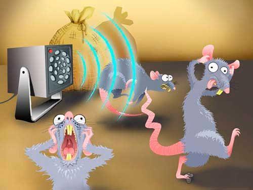мыши боятся ультразвука