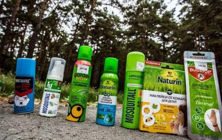 Репелленты от комаров для детей