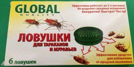 Глобал гель от тараканов