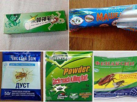 Какие порошки от тараканов наиболее эффективны