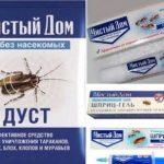 Безопасное и эффективное средство от тараканов порошок Чистый дом