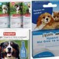 Капли для защиты собак от блох и клещей